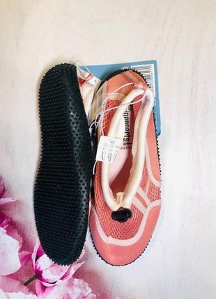 Тапочки для кораллов розового цвета, аквашузы, обувь для плавания, дайвинга 33,34р4 фото
