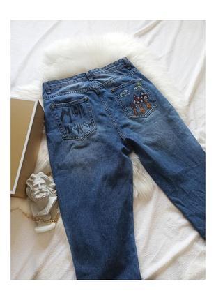 Плотные стильные женские джинсы boohoo