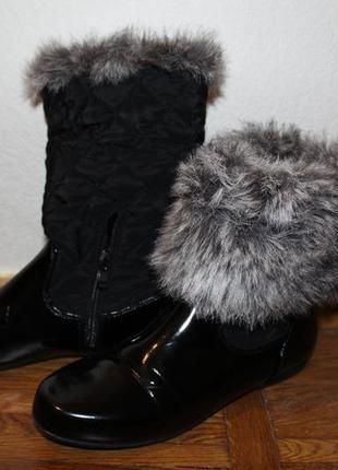 Ботинки черные осенние cafe noir