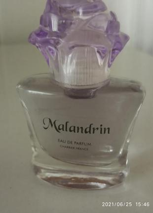 Malandrin charrier parfums  edp. франция. 9,8 мл.