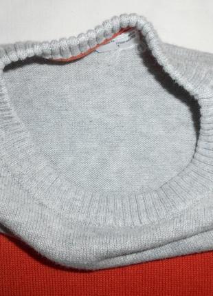 Стильный свитшот, джемпер тонкой вязки palomino от c&a на рост 110. состояние нового.5 фото
