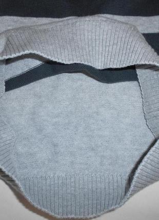 Стильный свитшот, джемпер тонкой вязки palomino от c&a на рост 110. состояние нового.6 фото