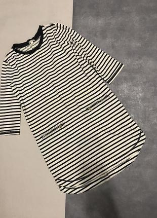 Платье тельняшка gap в полоску