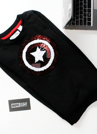 "Детский свитер ""captain america/spider - man marvel. капитан америка/человек паук. марвел"" ❤️"