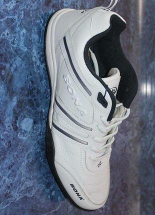 Кожаные кроссовки,bona, высокое качество и стиль, размер 45.