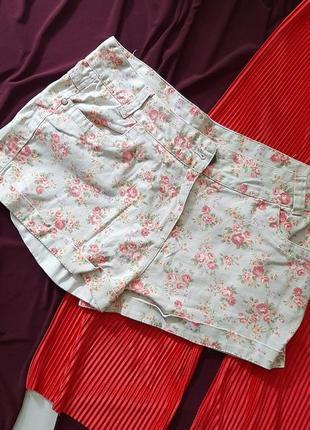 🌸🦋🌺 трендовые шорты в цветочек
