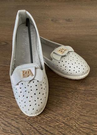 Туфли для девочки, школьные туфли для девочки, нарядные туфельки, шкіряні туфельки для дівчинки