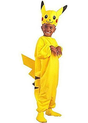 Маскарадный костюм покемона пикачу на рост 146см