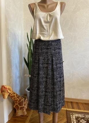 Крутая плотная трикотажная юбка m&s