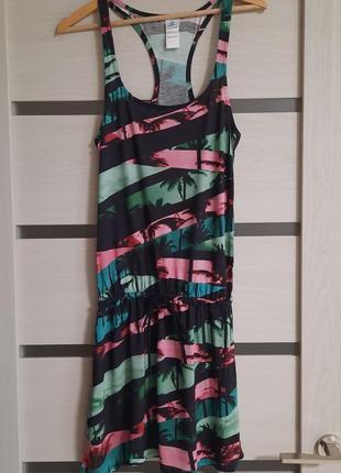 Легкое пляжное платье firefly германия разм.42