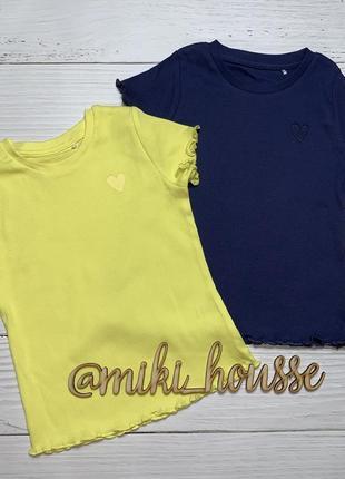 Набор футболок для девочки