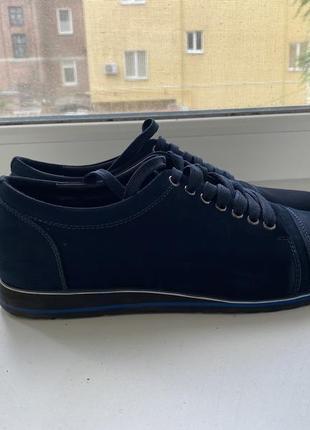 Замшевые туфли pierre cardin