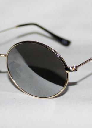 Топовая модель! очки солнцезащитные 783. овальные очки. зеркальные очки