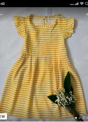 Лляна сукня для дівчаток