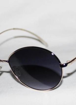 Топовые солнцезащитные очки 22042. ретро модель