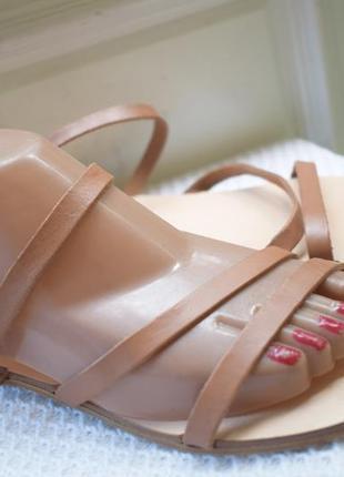 Кожаные босоножки сандали сандалии mint & berry р.40 26,3 см