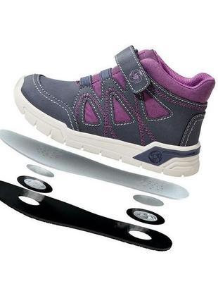 Качественные демисезонные ботинки на мембране lupilu серия air&fresh 25, 26, 27, 28, 29, 30