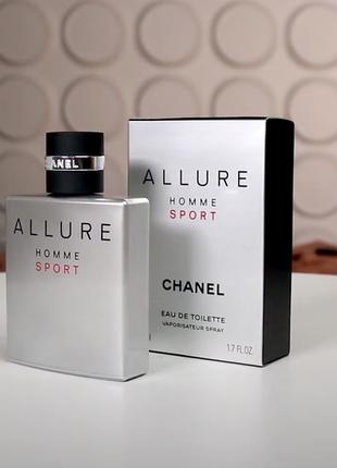 Chanel allure homme sport оригинал_eau de toilette 7 мл затест