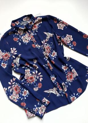 Женская сорочка блуза с принтом primark