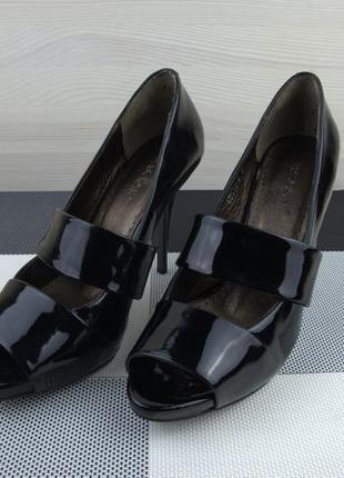 Туфли модельные кожаные basconi. новые.  размер 37