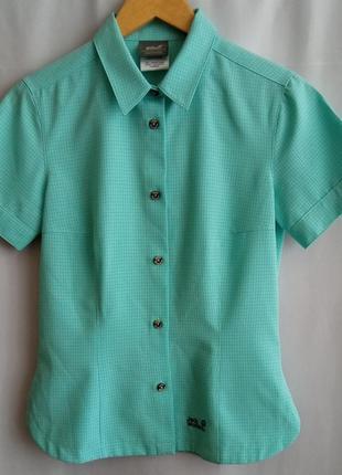 Jack wolfskin  outdoor треккинговая рубашка s-44р