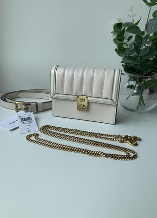 Поясная сумка coach 89240 hutton belt bag оригинал!