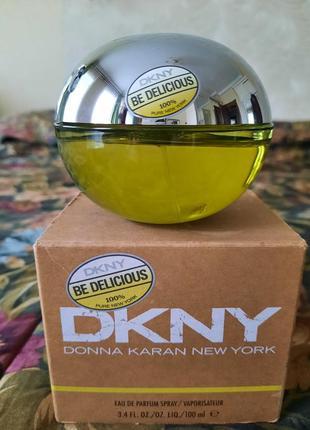 Donna karan dkny be delicious оригинал 100 мл