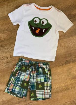 "Комплект футболка+шорты тм ""gymboree""и""crazy8"" р.2t/92-98cm."