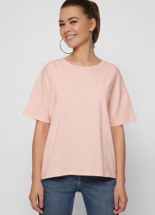 Бежевая футболка, персиковая футболка, футболка с длинными рукавами, хлопковая футболка