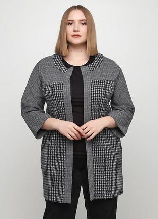 Жакет radda  серый 3205-23