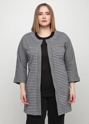 Жакет radda  серый   3205-35