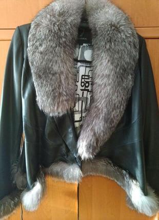 Женская куртка weitral из натуральной кожи