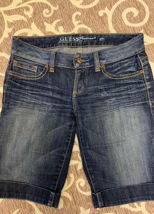 Шорты джинсовые оригинал guess