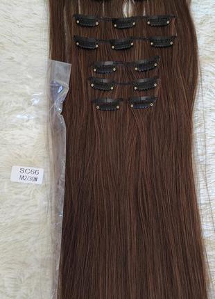 Искусственные волосы, трессы 7шт на 16 заколках