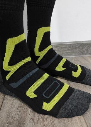 Мужские трекинговые термо носки из шерсти мериноса rohner размер 39-41