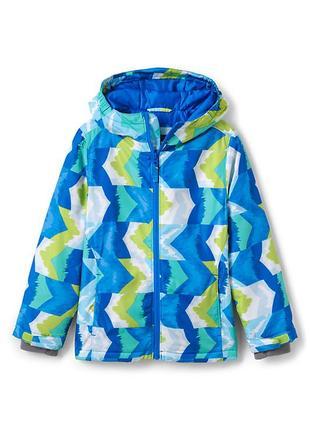 Водонепроницаемая и ветрозащитная осенне- зимняя куртка, пог 53, land's end