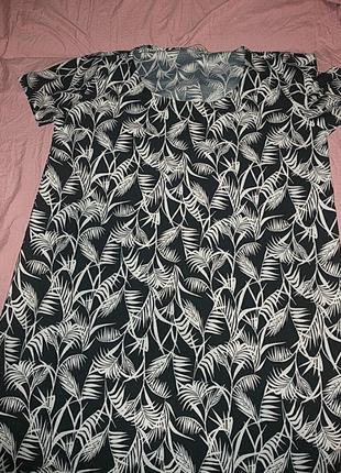 Платье свободгого кроя,платье футболка