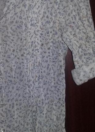 Милая блуза с цветочным принтом