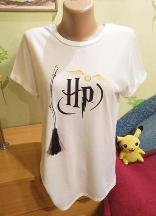 Harry potter-футболка - primark- m-l-