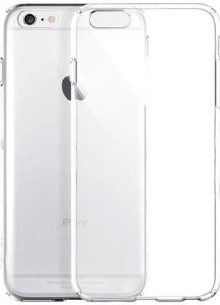 "Tpu чехол epic transparent 1,0mm для apple iphone 6/6s plus (5.5"") (прозрачный)"