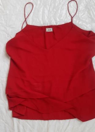 Новая шикарная майка блузка