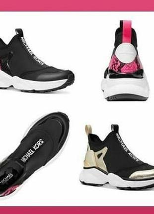 Michael kors willow slip on sneakers кроссовки