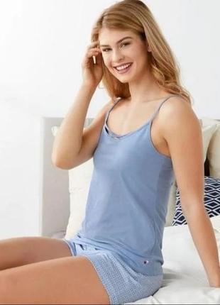 Пижама, майка + шорты, комплект для дома и сна esmara