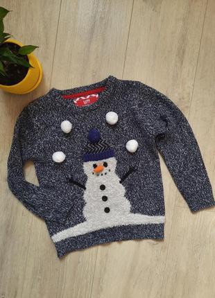 Новогодний свитер rebel 5 лет 6 лет
