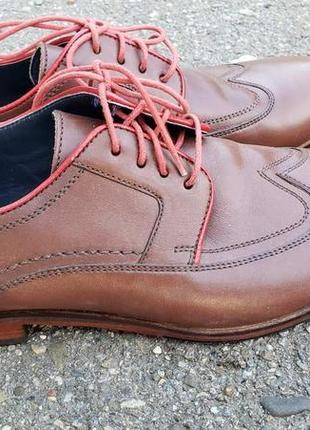 Туфли, оксфорды sioux (германия), размер 42