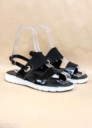 Босоножки сандалии (код в 008) черные босоніжки сандалі сандаліі жіночі чорні