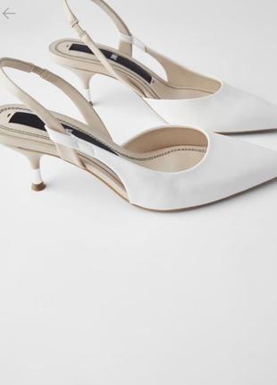 Туфли без задника ,мюли zara 37 размер