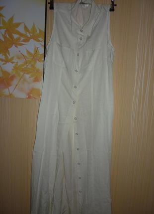 Длинное платье в пол макси большого размера 52
