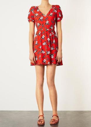 Распродажа!!! актуальное летнее платье в цветах. #26max