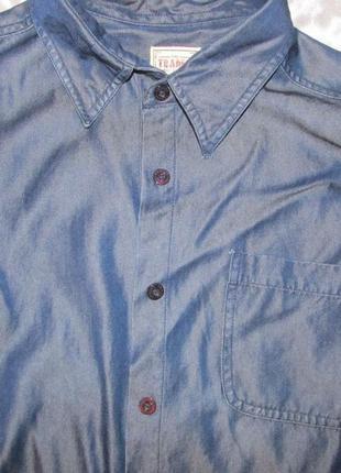 Рубашка из денима